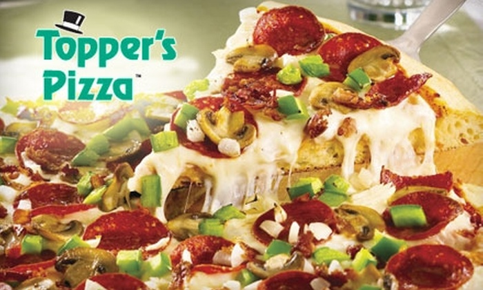 Topper's Pizza - Victoria Hills: $10 For $20 Worth of Pizza and More at Topper's Pizza in Kitchener