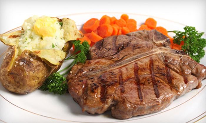 Cast Iron Steak House - Jeffersonville: $15 for $30 Worth of Steak and Seafood at Cast Iron Steak House in Jeffersonville