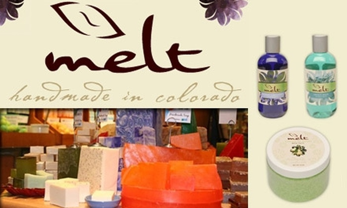 Melt - Denver: $25 for $50 Worth of Bath and Skincare Products at Melt