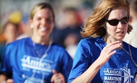 Amica Marathon: 5K on Sat., October 15 at 7:30AM - Amica Marathon in