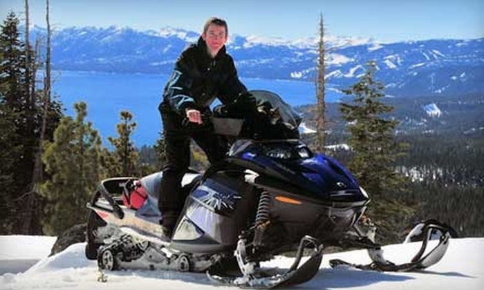 Lake Tahoe Snowmobile Tours - Lake Tahoe: $65 for a Two-Hour Snowmobile Tour with Lake Tahoe Snowmobile Tours ($130 value)