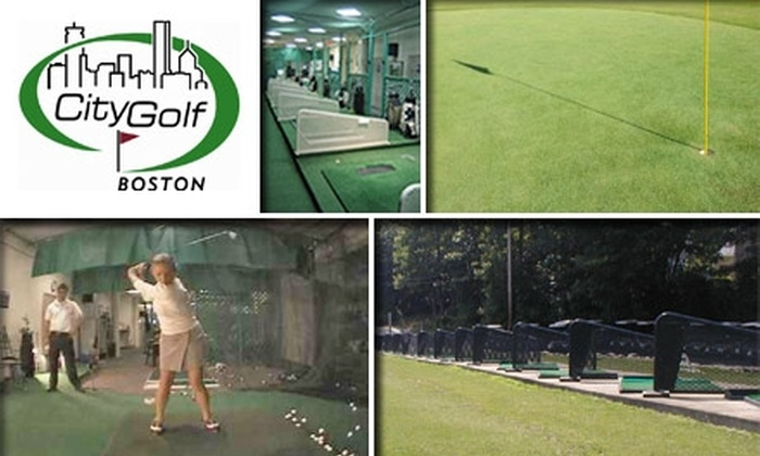 City Golf Boston - Downtown: $45 for a Complete Golf Swing Analysis at CityGolf Boston (Up to $125 Value)