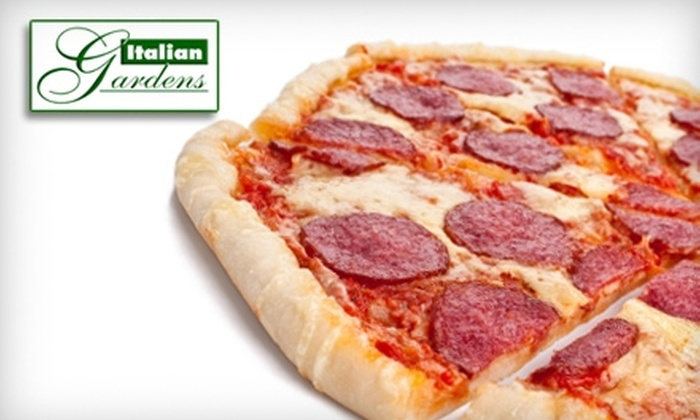 Italian Gardens - Towson: $10 for $20 Worth of Italian Cuisine at Italian Gardens in Towson