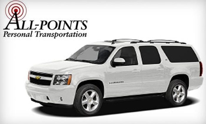 All-Points Personal Transportation - Northwest Raleigh: $99 for Car Service to and from a Hurricanes or NC State Men's Home Basketball Game from All-Points Personal Transportation ($225 Value)