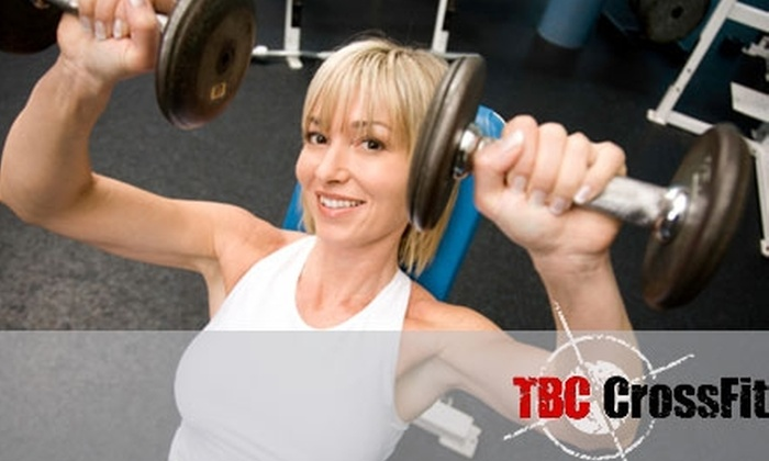 TBC CrossFit - Northwest Side: Your Choice of Personal Training Option at TBC CrossFit. Choose between Private Training or Small Group Training.