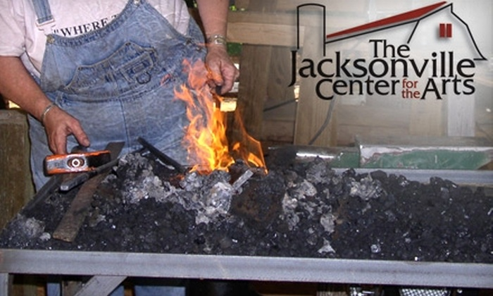 Jacksonville Center for the Arts - Court House: $110 for a Two-Day Weekend Blacksmithing Class at Jacksonville Center for the Arts in Floyd