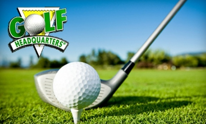 Golf Headquarters - Multiple Locations: Custom Club Fittings at Golf Headquarters. Choose from Four Options.