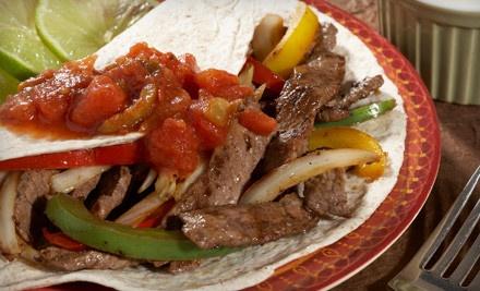 $20 Groupon to El Patron Restaurant & Cantina - El Patron Restaurant & Cantina in Cedar Park