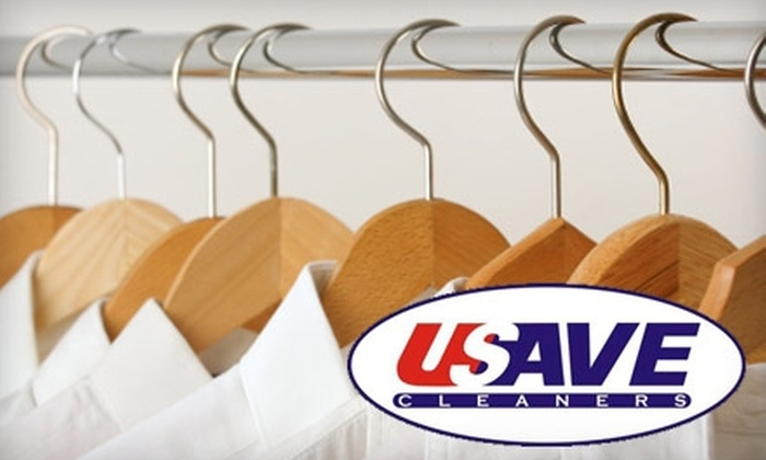 USAVE Cleaners - Wichita: $5 for $15 Worth of Laundry and Dry Cleaning at USAVE Cleaners