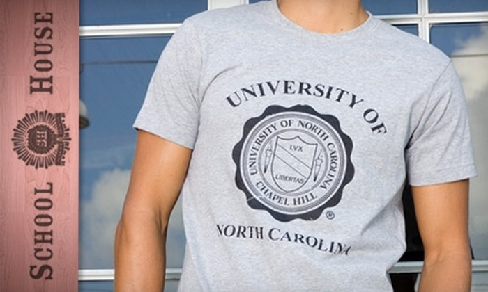 School House: $20 for $50 Worth of University Apparel from School House