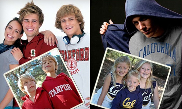 U Threads - Multiple Locations: $15 for $30 Worth of College Apparel and Accessories at U Threads