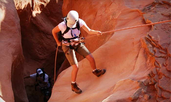 12 Finger Outdoor Adventure - Hillcrest: $49 for a Two-Part Guided Rock-Climbing or Canyoneering Adventure from 12 Finger Outdoor Adventure ($129 Value)