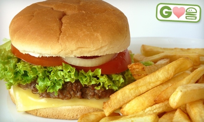 Cookers Red Hots - Deerfield: $3 for $6 Worth of Burgers, Drinks, and Classic American Eats or $25 for $50 Toward Catering at Cookers Red Hots in Deerfield
