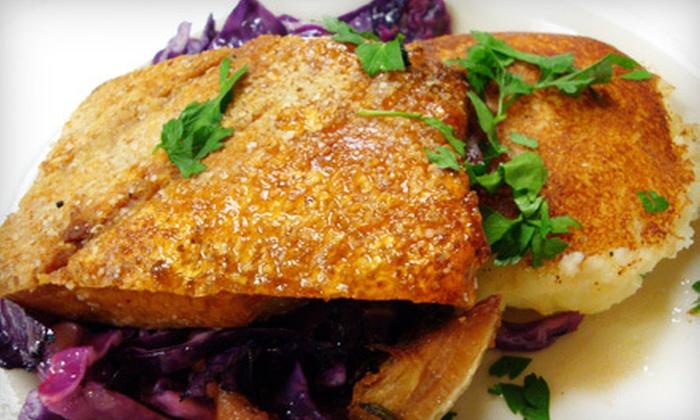 Feast - Neartown/ Montrose: Half Off Dinner at Feast, a James Beard Award Nominee.