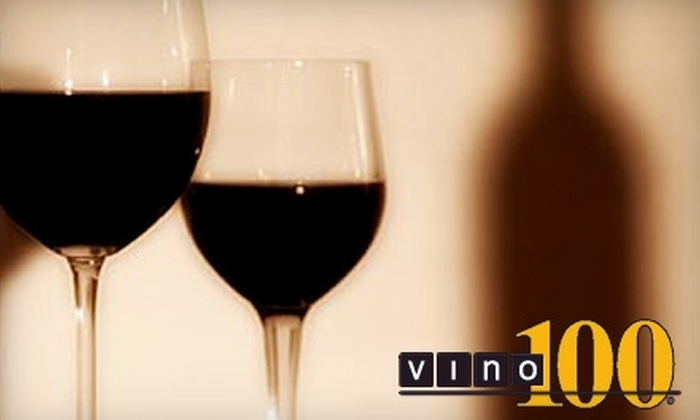 Vino 100 - Southeast Reno: $15 for a Wine Tasting for Two and 10% Off Purchase at Vino 100 ($30 Value)
