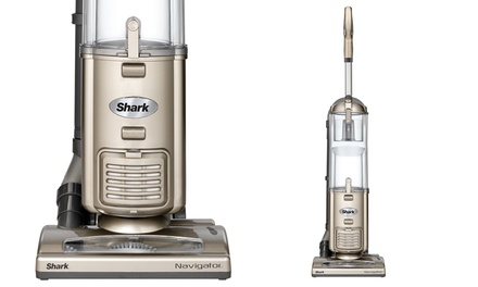 Shark Navigator Deluxe Upright Vacuum Cleaner with Upholstery Tool, Crevice Tool, and Dusting Brush