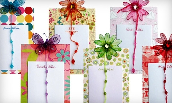 Goofidity Designs: $10 for Personalized Note Card Gift Set From Goofidity Designs ($19.95 Value)