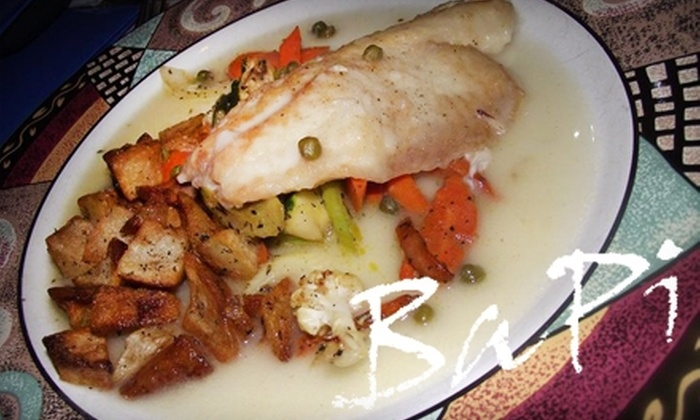 BaPi Italian Ristorante - Arlington Heights: $12 for $25 Worth of Italian Cuisine and Drink at BaPi Italian Ristorante in Arlington Heights