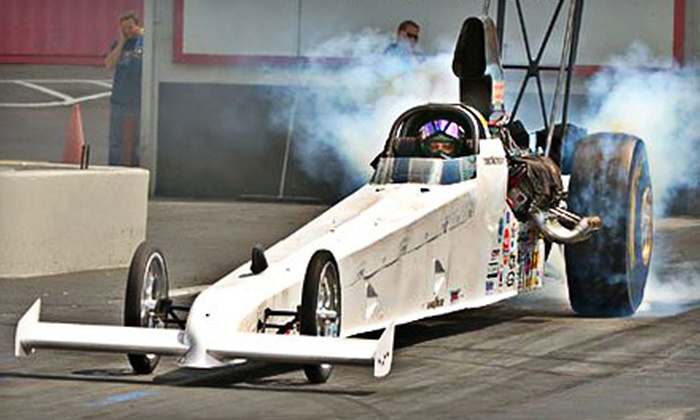 Doug Foley's Drag Racing School - Chicago Speedway: Dragster Ride-Along or Driving Experience at Route 66 Raceway in Joliet from Doug Foley's Drag Racing School (Half Off)