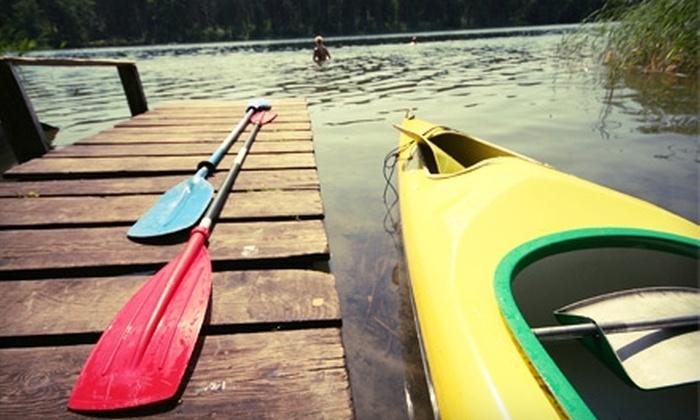 Sun Island Beach Services - Cocoa Beach: $25 for a One-Day Kayak Rental from Sun Island Beach Services ($50 Value)