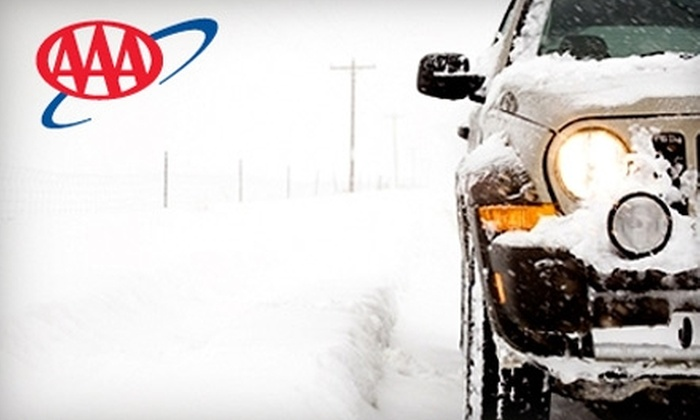 AAA: $53 for a One-Year AAA Plus Membership ($106 Value)