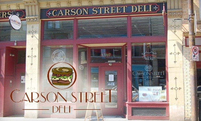 Carson Street Deli - Southside Flats: $8 for $16 Worth of Sandwiches, Brews, and More at Carson Street Deli