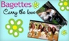 Bagettes: $19 for a Medium Personalized Bagettes Photo Bag ($41 Value)
