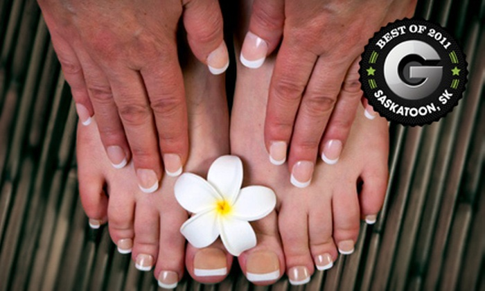 Sunsera Salons - Multiple Locations: $49 for a Classic Manicure and Pedicure at Sunsera Salons ($100 Value).