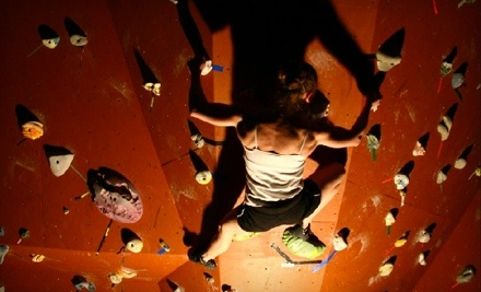 RedPoint: Two-Hour Belaying Class and a One-Mont Climbing Membership - RedPoint in Fayetteville