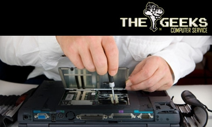 The Geeks Computer Service  - Multiple Locations: $30 for a $60 PC Diagnosis (or $37 for a $75 Mac Diagnosis) at The Geeks Computer Service