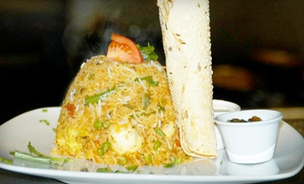 Dinner for 2 (up to a $61 total value) - Waterfalls Indian Tapas Bar & Grill in Toronto