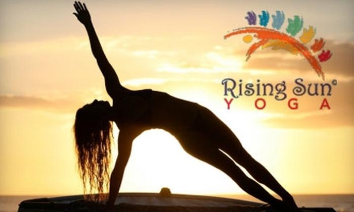 Rising Sun Yoga - Amherst: $35 for Five Classes at Rising Sun Yoga ($75 Value)