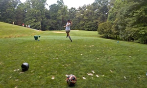 Lake Ridge and General's Ridge Golf Courses: FootGolf at Lake Ridge and General's Ridge Golf Courses (Up to 60% Off). Three Options Available.