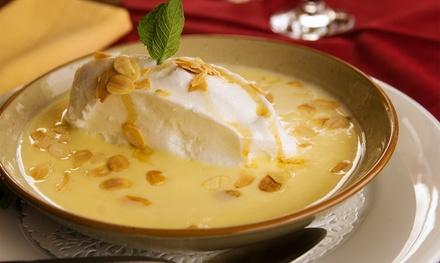 Entrée, tarte flambée ou spécialité alsacienne avec dessert pour 2 personnes, dès 24,90 € au restaurant S Bronne Stuebel