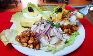 El Tesoro Del Inca: Latin American Peruvian Cuisine for Two or Four at El Tesoro Del Inca (50% Off)