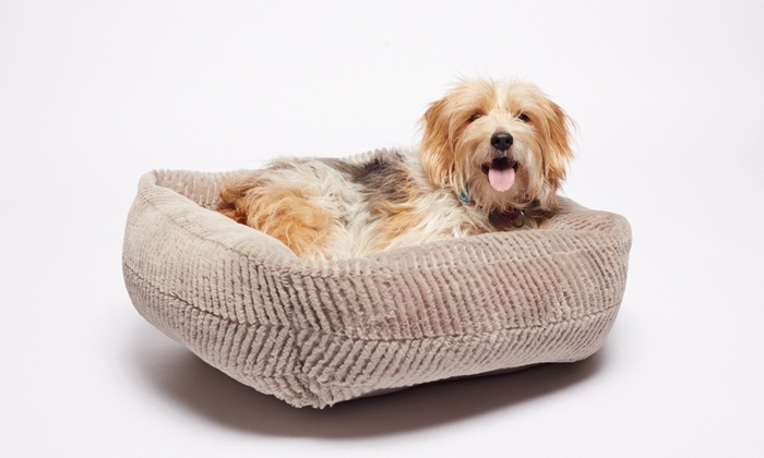 Plush Fur Reversible Pet Bed Cuddler: Plush Fur Reversible Pet Bed Cuddler