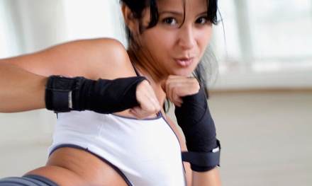5 or 10 Kickboxing Classes at Kickboxing Fit USA (Up to 87% Off)