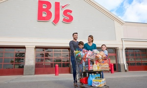 Up to 27% Off One-Year BJ's Membership