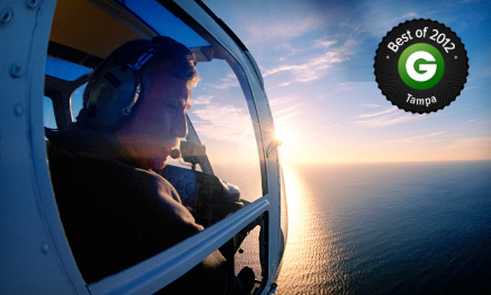 Tampa Bay Aviation - Clearwater: $159 for a Helicopter-Flying Lesson with a Simulator Session and Flight at Tampa Bay Aviation ($325 Value)