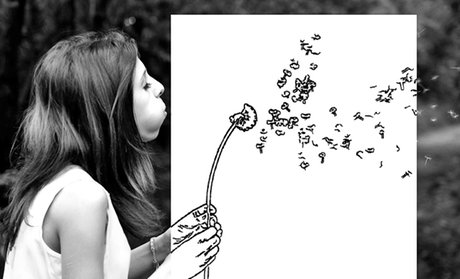 Turn Your Photos Into Coloring Pages (50-, 70-, or 100-Count)