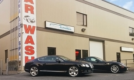 Gold or Platinum Detailing Package for a Car, SUV, or Truck at The Ottawa Auto Spa (Up to 51% Off)