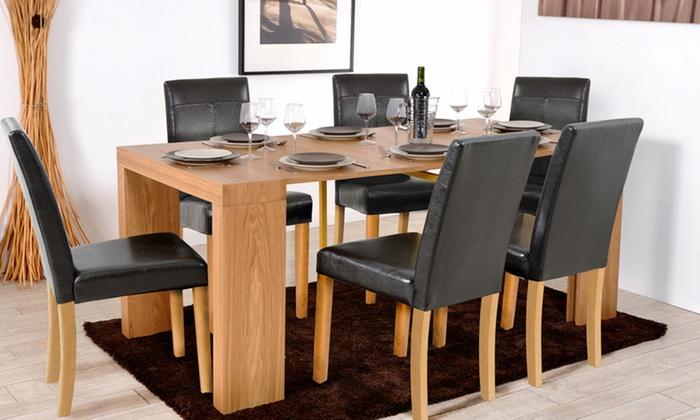 Console extensible avec chaises | Groupon Shopping