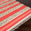 Surya Steps Hand-Woven Area Rug with Fringe Detail