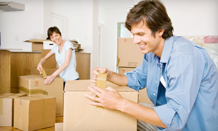 Here To There Movers - Indianapolis: Two or Four Hours of Moving Services with One Truck and Two Men from Here To There Movers (Half Off)