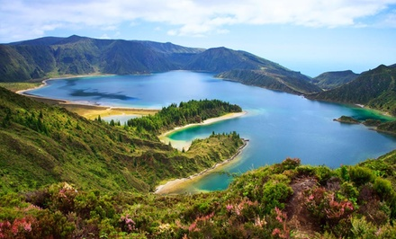 groupon daily deal - 7-Day Vacation to the Azores Islands with Round-Trip Airfare from SATA. Price/Person Based on Double Occupancy.