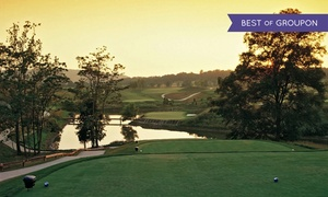 PB Dye Golf Club: 18-Hole Round of Golf with Cart and Bucket of Range Balls for Two or Four at PB Dye Golf Club (Up to 63% Off)