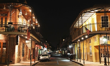 groupon daily deal - Stay at Ambassador Hotel New Orleans, with Dates into August