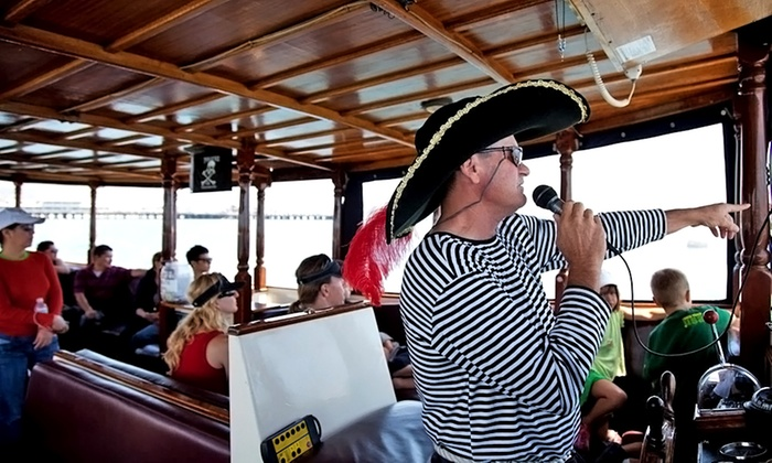 Captain Don Cruises - Hollywood: 40-Minute Boat Ride for Two, Four, or Six from The Pirate Boat Ride (50% Off)