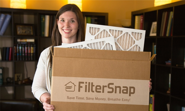 FilterSnap: One, Two, or Three Air Filters Delivered by FilterSnap (Up to 72% Off)