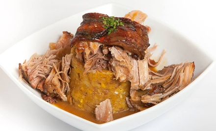 Puerto Rican Cuisine and Wine for Two or Four, or Lunch at Don Coqui (Up to 53% Off)